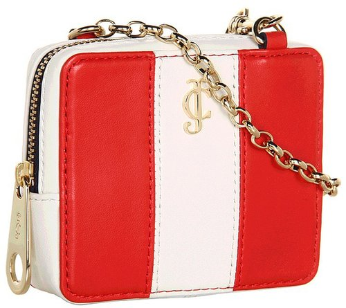 Juicy Couture - Stripe Phone Wristlet (Red Siren/Angel) - Bags and Luggage