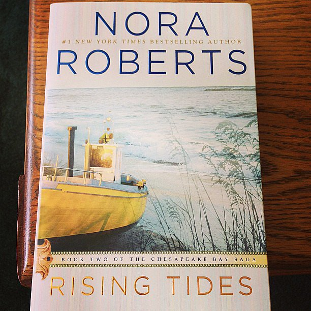 "On her Nora Roberts pick, carpenterlizzy explained: ""I love starting one book in the morning, finishing it in the afternoon and there's still time to start the sequel!"""