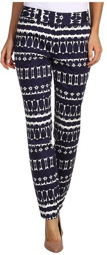 Nanette Lepore - Pop Art Pant (White/Navy) - Apparel