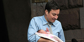 Jimmy Fallon Steps Out With Baby Winnie!