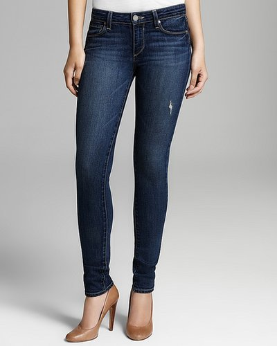 Paige Denim Jeans - Skyline Ankle Peg in Augusta