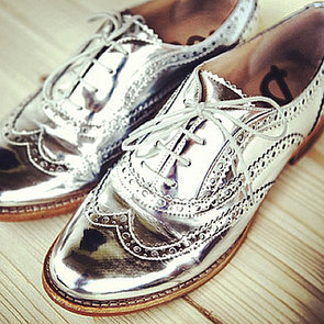 Silver Oxfords