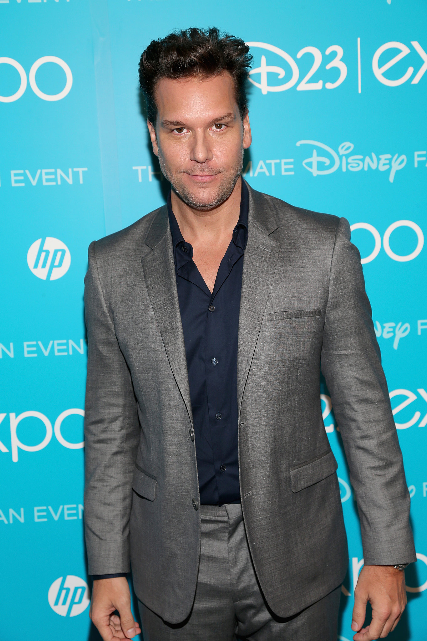 Comedian Dane Cook attended Disney's D23 Expo in LA on Saturday.