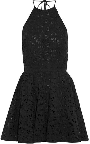 Zimmermann Oasis broderie anglaise cotton mini dress