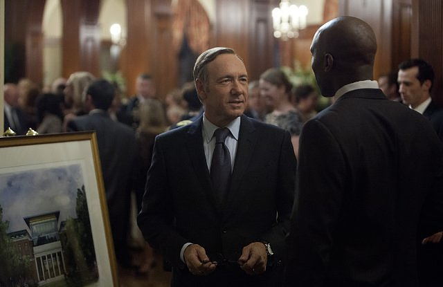 House of Cards The Netflix hit did the near-impossible in its first season: it broke into the hard-to-get-into outstanding drama series, which is inhabited by heavy hitters like Mad Men, Breaking Bad and Homeland. Source: Netflix