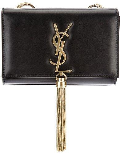 Saint Laurent small 'Cassandre' tassel shoulder bag