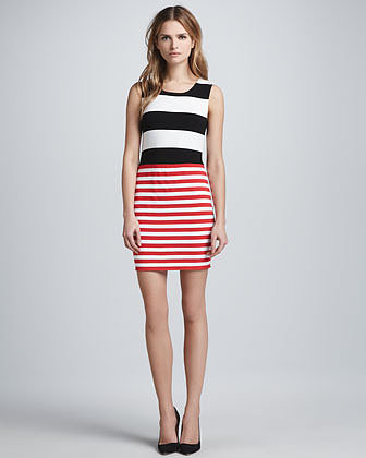 Bailey 44 Delta Time Striped Tank Dress
