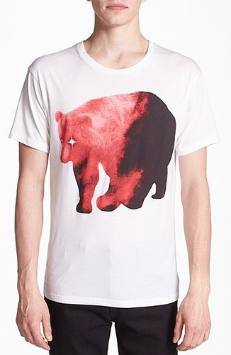 MARC by Marc Jacobs 'Bear' Graphic T-Shirt True White Large