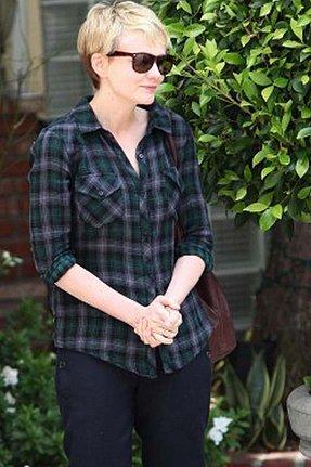 Rails Kendra Gauze Plaid Shirt in Black/Green