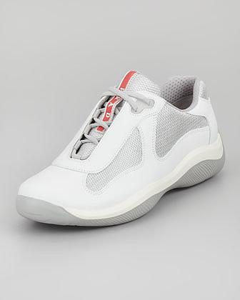 Prada Leather Sneaker