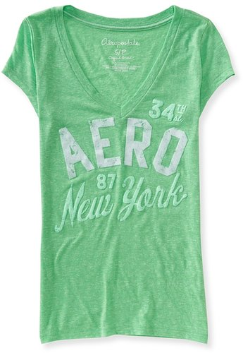 Aero V-Neck Graphic T