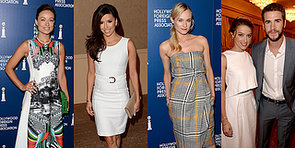 Diane, Liam and More Coupled-Up Stars Go Solo at an LA Luncheon