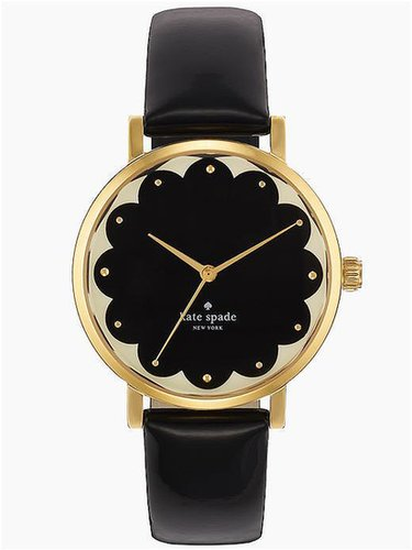Kate Spade New York Black Scallop Metro