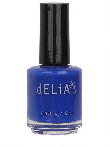 Nail Polish Bright Blue Splash