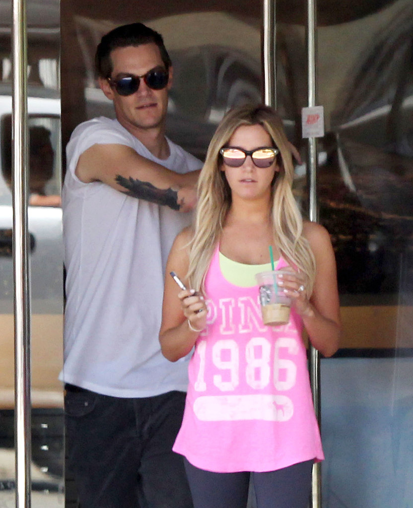 Ashley Tisdale and Christopher French grabbed lunch together.