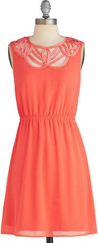 Papaya Skies Dress