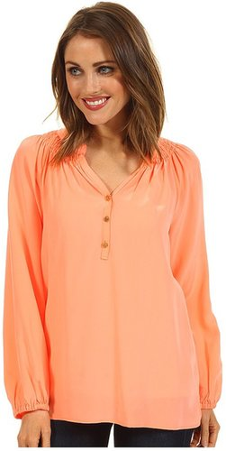 Lilly Pulitzer - Elsa Top (Sunrise Orange) - Apparel