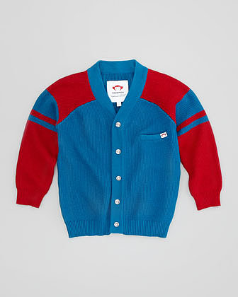 Appaman Thompson Two-Tone Cardigan