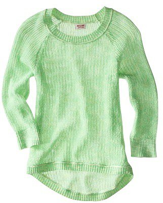 Mossimo Supply Co. Juniors High Low 3/4 Sleeve Sweater - Assorted Colors