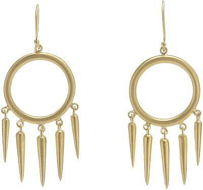 Finn Gold Gypsy Chandelier Earrings