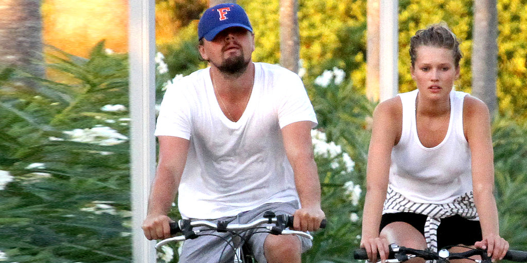 Leonardo DiCaprio, Ladies, and Bikes — We're Sensing a Trend Here