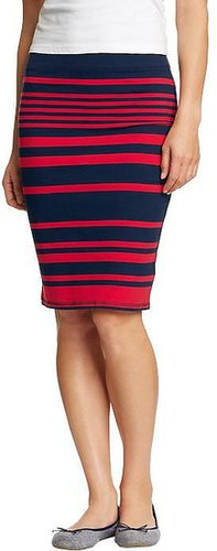 Women's Printed Jersey Pencil Skirts