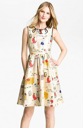 KATE SPADE MULTICOLOR RAINEY DRESS
