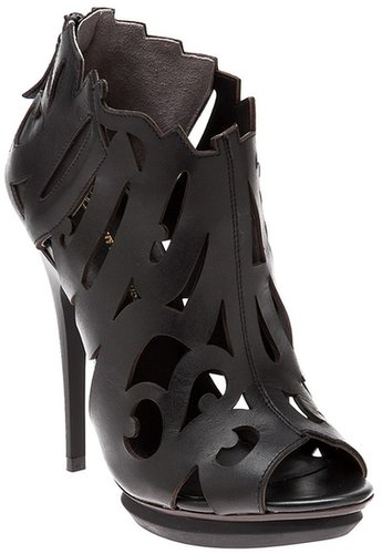 United Nude Cutout graffiti sandal