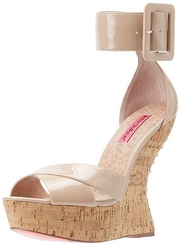 Betsey Johnson Women's Morggann Wedge Pump