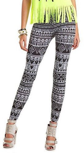 Geo Aztec Cotton Legging