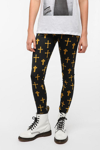 BDG Ornate Cross Legging