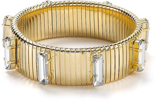 RJ Graziano Crystal Accent Stretch Bracelet