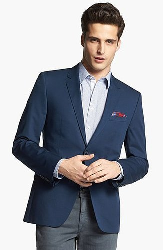 HUGO 'Aeris' Extra Trim Fit Cotton Blend Blazer (Online Only) 40L