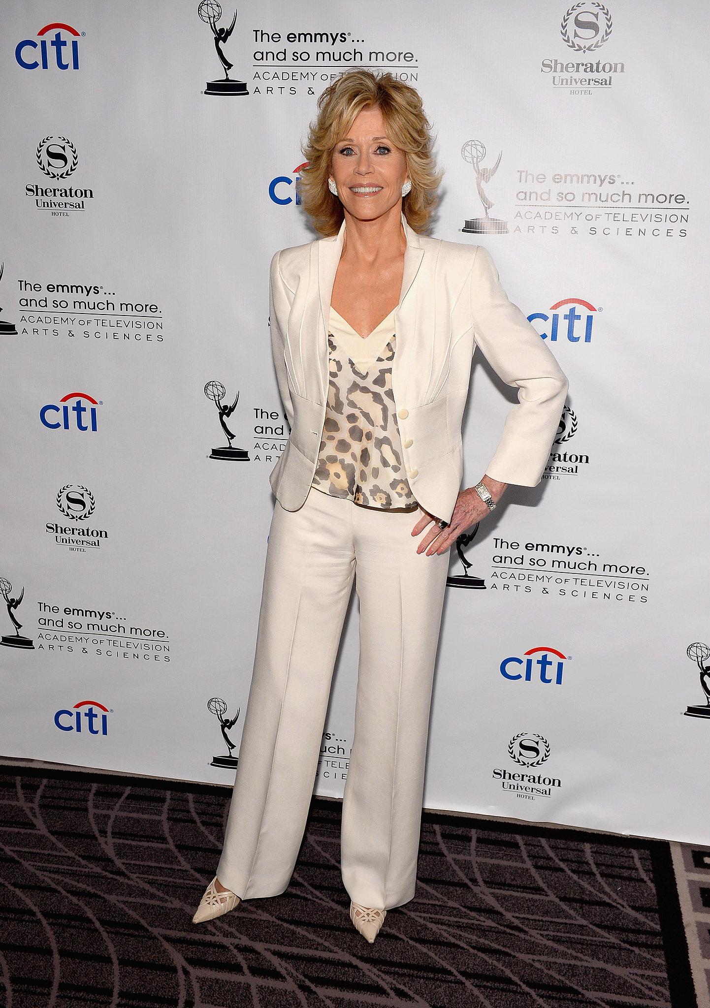 Jane Fonda celebrated among the Emmy nominees.