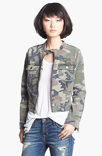 TEXTILE Elizabeth and James 'Wesley' Camo Jacket Medium