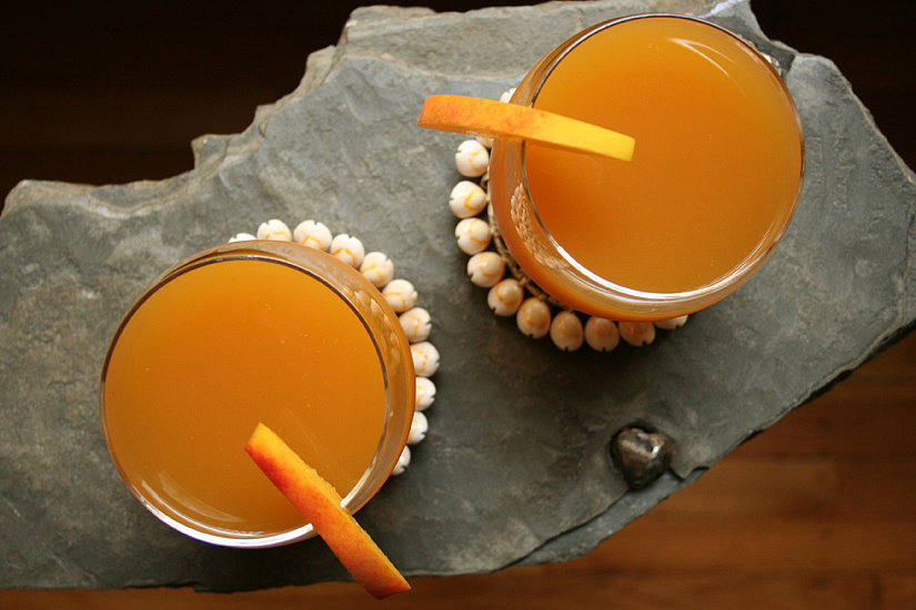For the Toast: Peach Beer Cooler