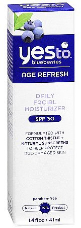 Yes to Blueberries Blueberries Age Refresh Daily Facial Moisturizer SPF 30