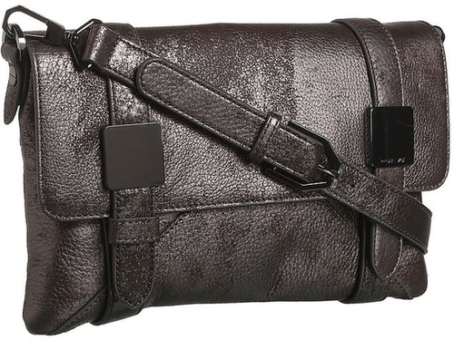 Rachel Zoe - Morrison Clutch (Brushed Pewter Metallic) - Bags and Luggage