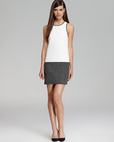 4.collective Color Block Shift Dress - Sleeveless