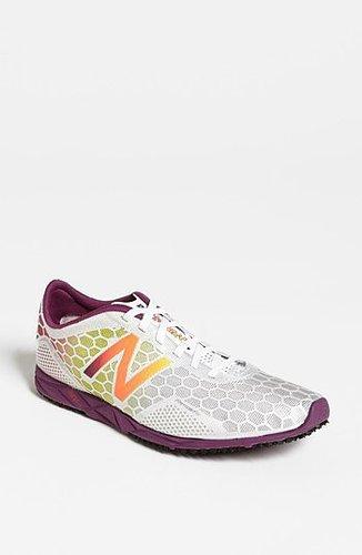 New Balance '5000' Running Shoe (Women) White/ Purple 10 B