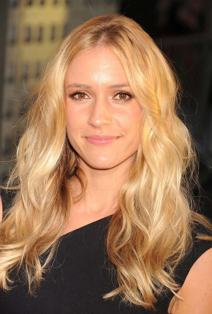 Kristin Cavallari proved she's a true California girl with perfect blonde waves and a bronzed makeup look.