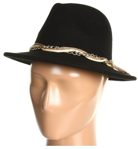 Calvin Klein - Wool Fedora (Black) - Hats