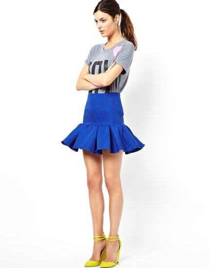 ASOS Skirt in Ovoid Texture