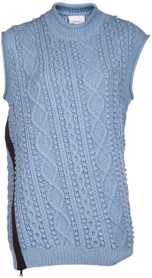 3.1 Phillip Lim cable knit sweater tunic