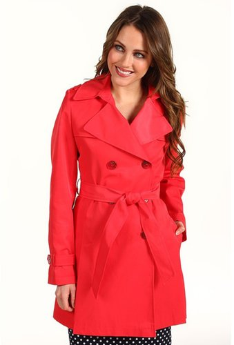 DKNY - Double Breast Flounce Trench (Capri) - Apparel