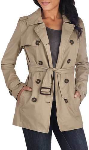 Classic and Chic Trench in Khaki