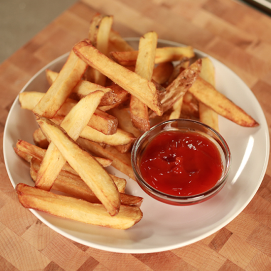 how to make perfect french fries without a deep fryer