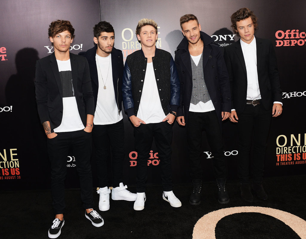 The guys of One Direction stepped out for the NYC premiere of One Direction: This Is Us.