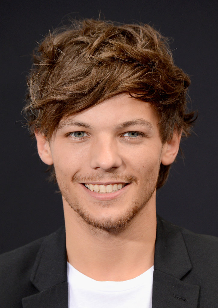 Louis Tomlinson was all smiles at the NYC premiere.