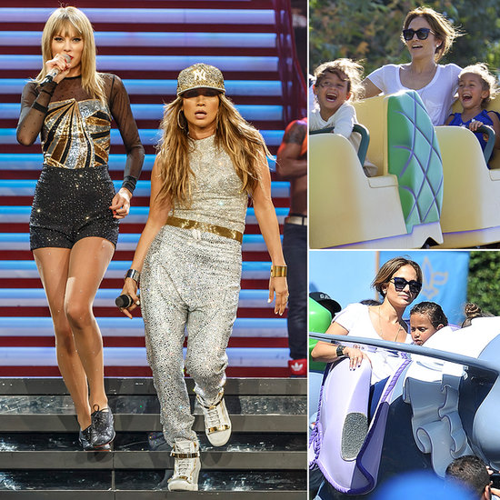 Jennifer Lopez Joins Taylor on Stage Before Taking Her Twins to Disneyland
